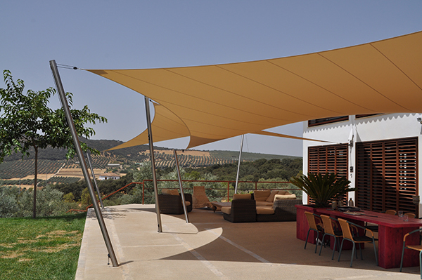 Tent Overkapping Tuin : Design terrasoverkapping ronda spanje hoover concepts